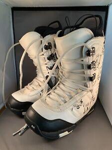 Burton Imprint 3 Shaun White Mens 9 Guitar Leather Snowboard Boots