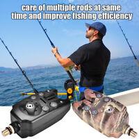 Electronic Fishing Bait Alarm with Sound LED Light Indicator Fish Bite Alarms SG