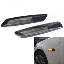 For BMW 1/3/5 Series Amber/White 18LED Fender Side Marker Turn Signal Light Well
