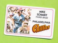 1981 Permagraphics Credit Card - Mike Schmidt (125-002)  Philadelphia Phillies