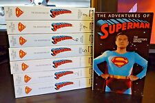 Superman Collector's Edition (Columbia House,1995) 8 VHS Tapes 24 Episodes