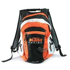 KTM Style 20l Orange Polyester Motorcycle Bike Motocross Backpack Rucksack Bag