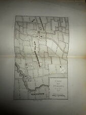 55 - CARTE MAP PLANS Campagne ITALIE 1745 & 1746 ST IMENTO ROTTOFREDO 1775