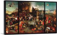 ARTCANVAS The temptation of St. Anthony Canvas Art Print by Hieronymus Bosch