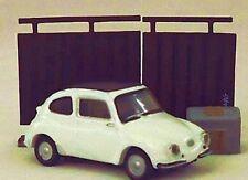 """! nuevo! Mini Plástico Auto Subaru 360 Diorama Figura 1.7"""" 4.5cm Japón/Reino Unido Vendedor"""