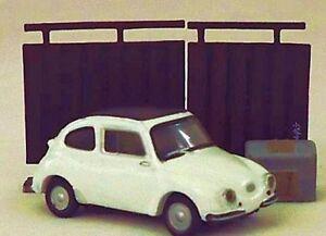"NEW! SUBARU 360 Mini PLASTIC Car DIORAMA Figure 1.7"" 4.5cm JAPAN / UK SELLER"