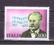 FRANCOBOLLI Italia Repubblica 1983 Francesco De Sanctis 300 Lire MNH**