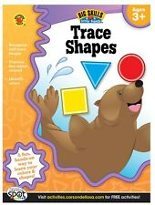 Trace Shapes Workbook, Grades Preschool - K (Big Skills for Little Hands)