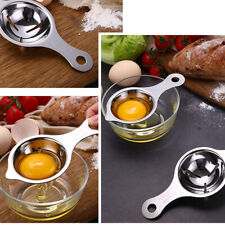 Stainless Steel Egg Yolk Sifting Seperator Kitchen Gadget Sieve Tool