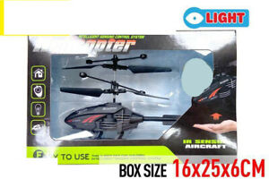 Helicopter Toy Value Set with IR hand sensor Age 6+ Holiday Gift AU Post