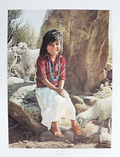 """Navajo Sunshine by Ray Swanson 28x22.5"""" Limited Edition Signed Print 410/1000"""