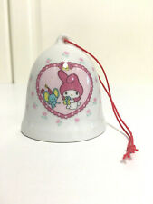 Vintage My Melody Sanrio Mini Bell Ornament 1976 Japan