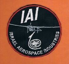 ISRAEL IDF AIR FORCE HERON UAV  RARE PATCH IAI MADE