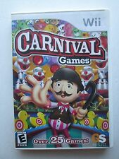 Carnival Games (Nintendo Wii, 2007) Used--Tested (NTSC)