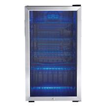 Outdoor Beverage Fridge Tall Cold Refrigerator Commercial Large Wine Glass Door