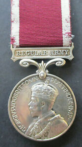 Army Long Service & Good Conduct Medal GV Regular Army Sgt J. CONNOLLY Signals