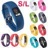 10pcs Silicone Sport Straps Wrist Band for Garmin VivoFit 4 Activity Tracker S/L