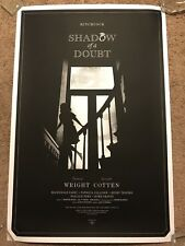 Alan Hynes 1943 Shadow of a Doubt Alfred Hitchcock Art Print Movie Poster Mondo