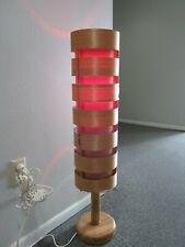 """VERY RARE Original 1960s Hans-Agne Jakobsson Wood Floor Lamp for AB Ellysett 37"""""""