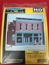 Robert's Dry Goods DPM Building Kit HO Structure #10200 Model Trains or Diorama