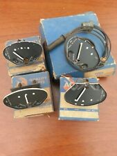NOS 1951 1952 Chevrolet Oil pressure/Thermo/Fuel/Ammeter Gauge Set