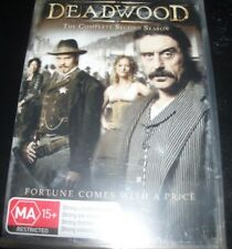 Deadwood The Complete Second Season 2 (Australia Region 4) DVD - NEW
