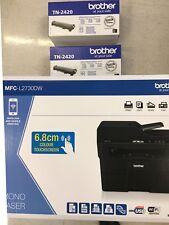 Brother MFC-L2730DW Imprimante 4 en 1 Laser Monochrome + 2toner Brother TN2420