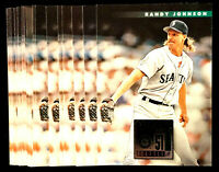1996 Donruss RANDY JOHNSON ~ 20 CARDS LOT #478 ~ HOF HALL OF FAME PITCHER