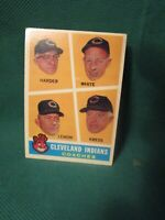 1960 Topps Baseball #460_Indians Coaches_5.0