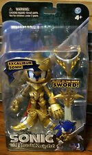 Sonic the Hedgehog and the Black Knight Excalibur Sonic Figure New MIB Jazwares