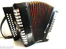 #122 HARMONICA TULSKAYA SUPER SOUND Russian TULA Button Accordion ГАРМОНЬ Garmon