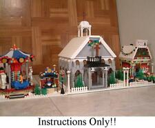 GET 100+ LEGO INSTRUCTIONS like Winter Village Church - 10222 Post Office