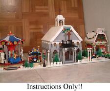 GET 100+ LEGO INSTRUCTIONS like Winter Village Church - 10222 Post Office