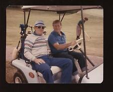 Original Mickey Mantle Golf Cart Photo