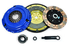 PPC MULTI-FRICTION CLUTCH KIT+ALUMINUM FLYWHEEL for ACCORD PRELUDE CL 2.2L 2.3L