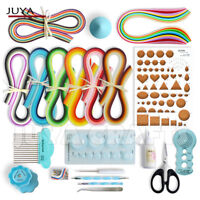 JUYA Paper Quilling Kits with 960 Strips and 13 Tools (QK13, with Glue)