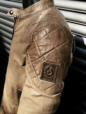 ORIGINAL BELSTAFF OUTLAW DAVID BECKHAM MOVIE LEDER JACKE ANTIQUE CUERO 52/XL