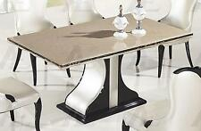 American Eagle DT-H903 Black and White  Marble Top Dining Table