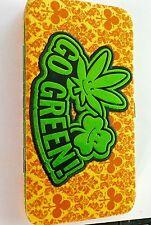 marijuana Go Green Hinge Wallet Purse New