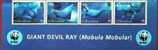 GIBRALTAR 2006 Sc#1037 WWF GIANT DEVIL RAY TITLE STRIP MNH