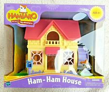 Vtg Hamtaro House (Ham-Ham). Hasbro 2002. Brand New, Mint Condition, Old Stock!