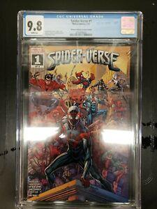 Spider-verse 1 Walmart Variant CGC 9.8 NM 1st Appearance SPIDER ZERO 2ND PRINT🔥