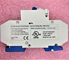 DC1CU1L ALTECH DC Breaker, 1A, 277 VAC, -25C to +60C DIN mount, C-Trip 1 UNIT