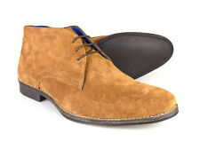 Red Tape Elstow Men's Tan Suede Leather Desert Boots RRP £45 !