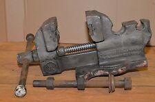 Antique 1890's Vanderman No 1 vise 100 lb blacksmith knife making forge tool
