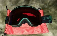 New listing Giro Axis Professional Snowboarding Goggles With Extra New Lens & Case