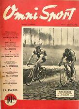 Omni Sport n°8 - 1946 - Paris Roubaix - Claes - Nice Luigi Villerosi - Escrime