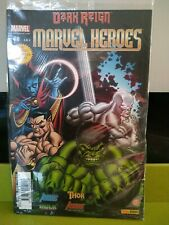 """MARVEL HEROES V2 # 28 """"VICTOIRE TOTALE"""" ÉD. COLLECTOR POSTER PANINI DARK REIGN"""
