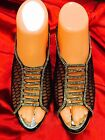 Size 6 Ladies Indian Bollywood Fancy Bridal Shoes Heels Sandals Black S19