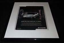 2001 Hyundai Tiburon Framed 11x14 ORIGINAL Vintage Advertisement